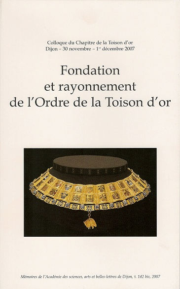 Actes du colloque - Toison d'Or